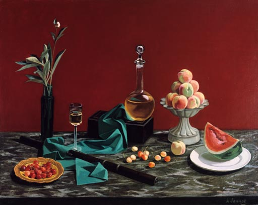 Nature morte d'été par Henri Jannot